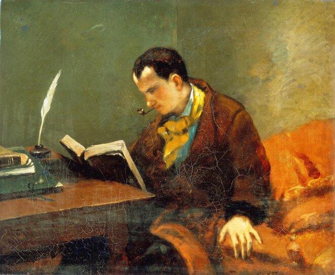 Baudelaire par Courbet