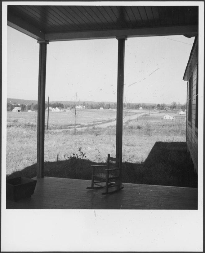 © Annemarie Schwarzenbach, Haus, 1936-38, USA, Pine Mountain Valley, Archives littéraires suisses, Berne.