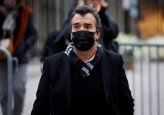 Arnaud Lagardère en janvier 2021 © Ludovic MARIN / AFP