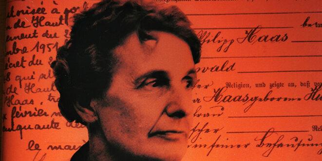 """Adélaïde Hautval, le courage de dire """"non"""". © Archives familiales"""