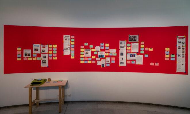 """Vue de l'exposition """"Mai Ling Dialogues"""", Musée départemental des arts asiatiques, Nice, du 23 janvier au 25 avril 2021 © Photo  Olivier Anrigo"""