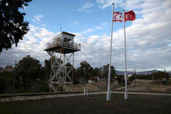 Base militaire turque en Chypre du Nord © Reuters