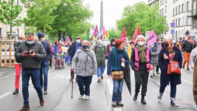 1er Mai dans les rues de Clermont-Ferrand © Georges-André Photos