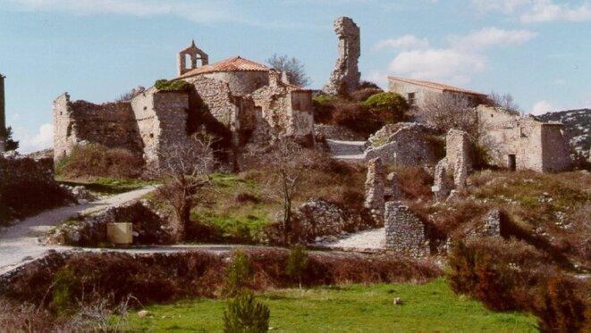 Périllos, un village de l'Aude, s'est vidé et a cessé d'exister en 1971.