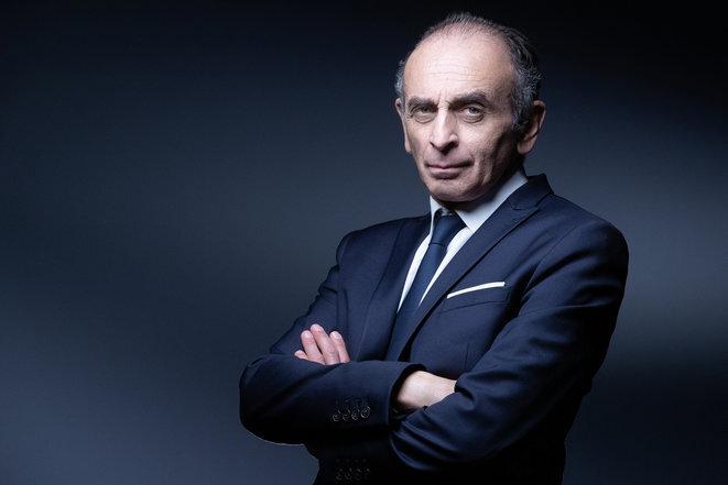 Journalist and polemicist Éric Zemmour. © JOEL SAGET / AFP