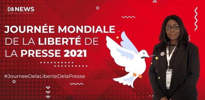 Anne Marie DWORACZEK-BENDOME - Journée mondiale de la liberté de la presse, 3 mai 2021