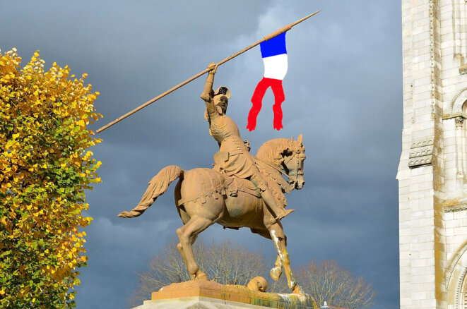 Statue de Jeanne d'Arc à Nantes Revisited © Selbymay Revisited by Esperce