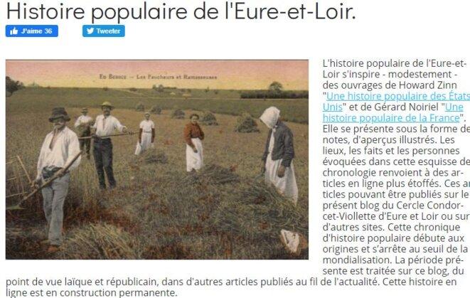 Blog Cercle Condorcet-Viollette Capture d'écran