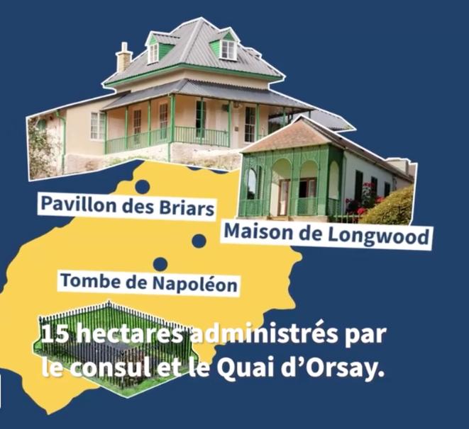 L'île de Sainte-Hélène et ses lieux napoléoniens