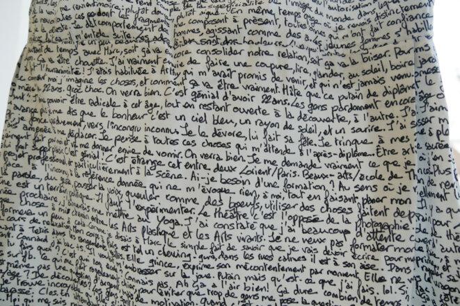 Julie Le Toquin - Robe d'écriture -