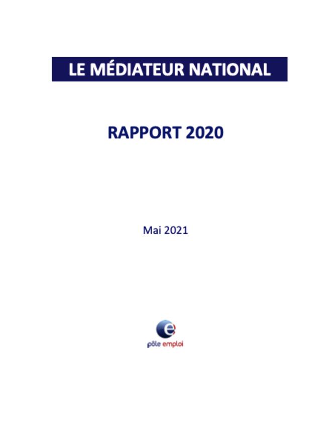 Le rapport 2020 du médiateur a été présenté au conseil d'administration de Pôle emploi. © Capture d'écran.