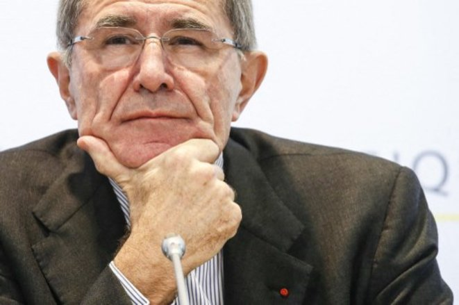 L'ancien président d'Engie et de Suez Gérard Mestrallet  en 2015 © THIERRY ROGE / Belga via AFP