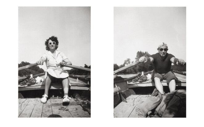 Charles et Gabrielle, conservatoire national de l'album de famille, Metz © La Conserverie
