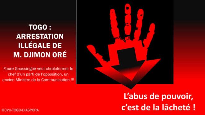 Djimon Oré contre Faure Gnassingbé : l'audace face à la lâcheté !!!