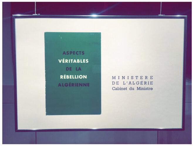 Première image de la série de 45 photos et documents exposés dans l'Espace municipale des Libertés à Perpignan, 19 mars 2021. © Éris