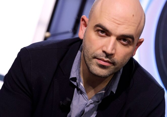 Le journaliste et écrivain Roberto Saviano © Cédric Perrin/Bestimage