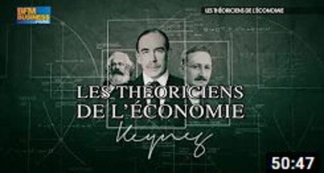 Les théoriciens de l'économie - Keynes - Marx - Hayek