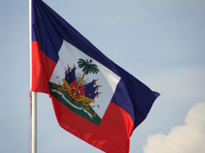 Drapeau de la République d'Haïti