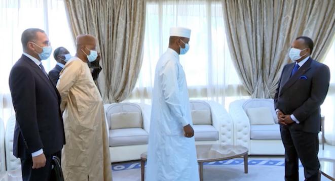Abdelkerim Idriss Déby Itno chez Denis NGuesso à Oyo