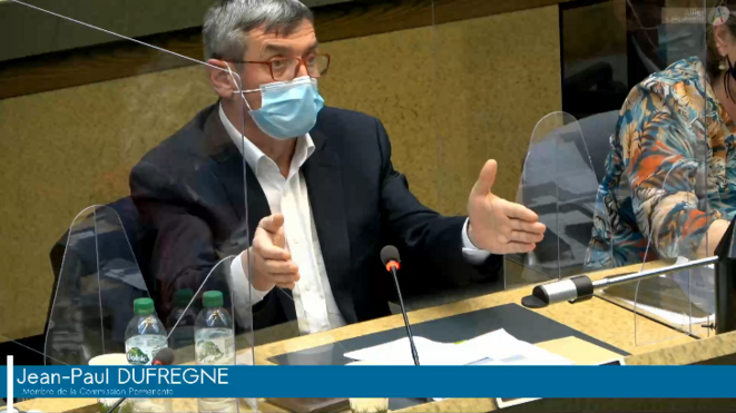 Jean-Paul Dufrègne, député PCF de la 1ère circonscription de l'Allier depuis 2017, a présidé le Conseil départemental entre 2008 et 2015. Il est remplaçant aux élections départementales de ce mois de juin, dans l'équipe de son actuelle «binôme» du canton de Souvigny, Marie-Françoise Lacarin.