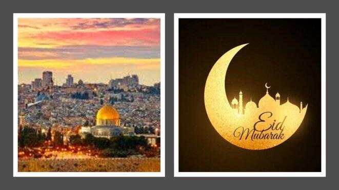 C'est le coeur et les pensées pour la Palestine que les musulmans de France célèbre l'Aid el Fitr 2021 © RISSALA