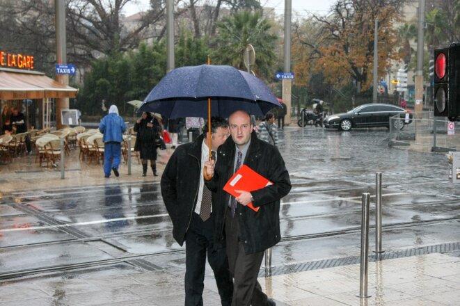 L'ex-directeur de cabinet de Georges Frêche, Frédéric Bort, en décembre 2009. © Nicolas Guyonnet / Hans Lucas via AFP