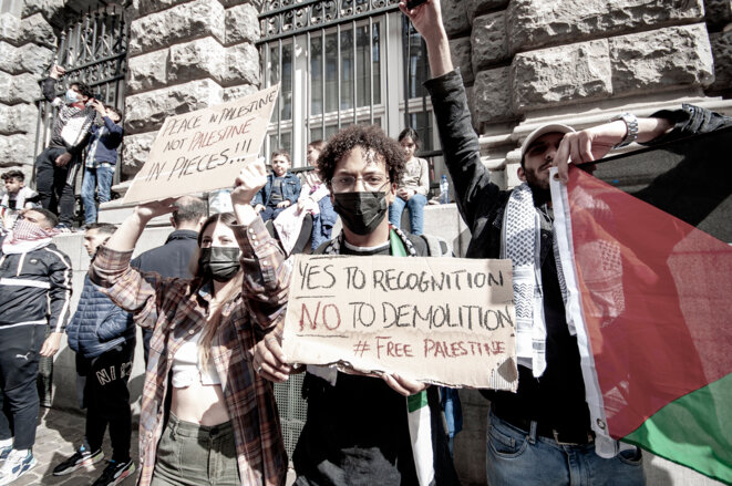 La Belgique doit agir contre la  répression des Palestiniens de Jérusalem-Est © Dominique Botte