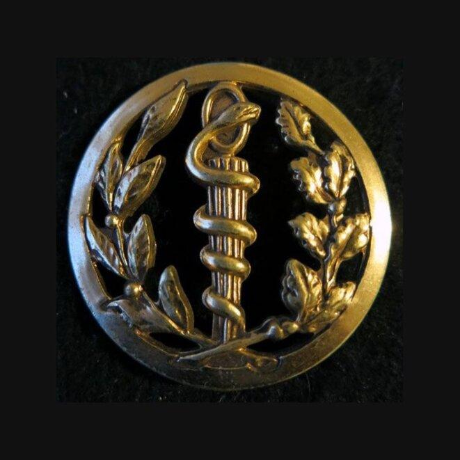insigne-de-beret-insigne-de-beret-du-service-de-sante-de-fabrication-beraudy-vaure