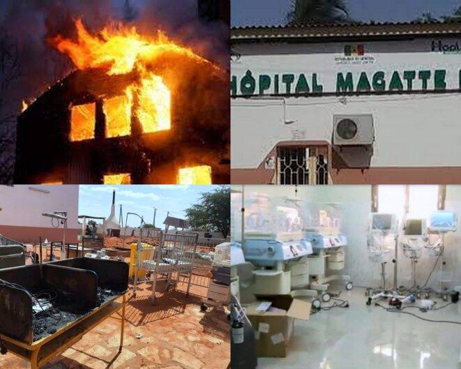 Incendie dans un hôpital sénégalais
