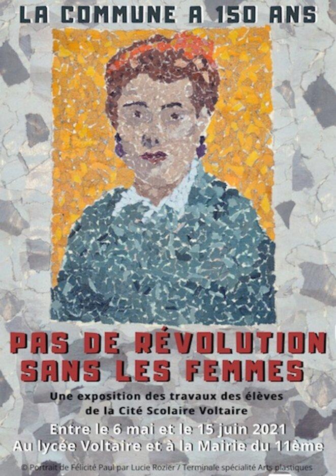 © Elèves en arts plastiques du lycée Voltaire (Paris 11e)