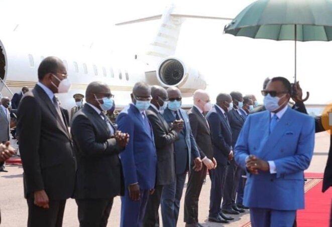 Denis SASSOU Nguesso regagne Brazzaville le 12 mai 2021 après un séjour à Oyo