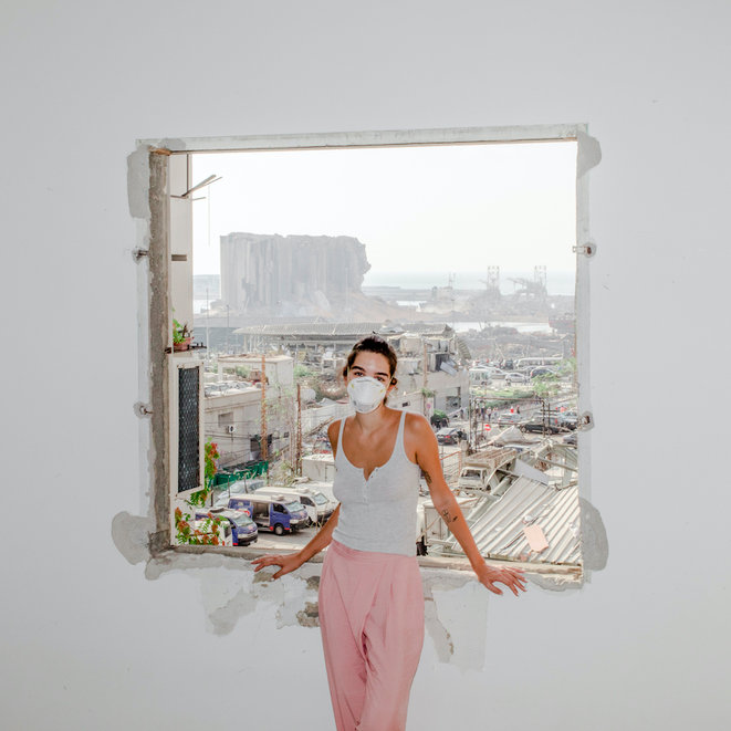 Myriam Boulos à Beyrouth