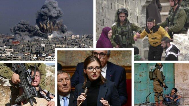 Aurore Berger présidente du groupe d'amitié entre la France et l'état d'occupation sioniste. © RISSALA