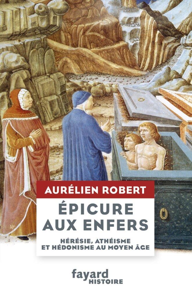 Couverture du livre Epicure aux enfers © Antoine du Peyrat & Guglielmo Girardi