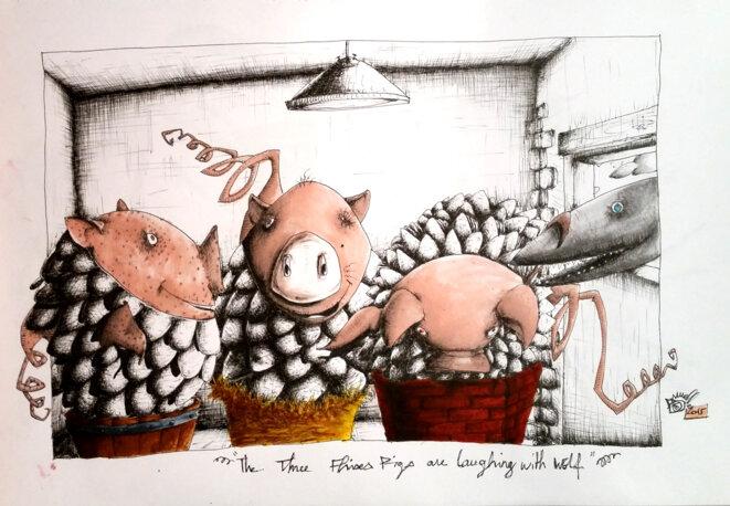 the-three-fish-pigs