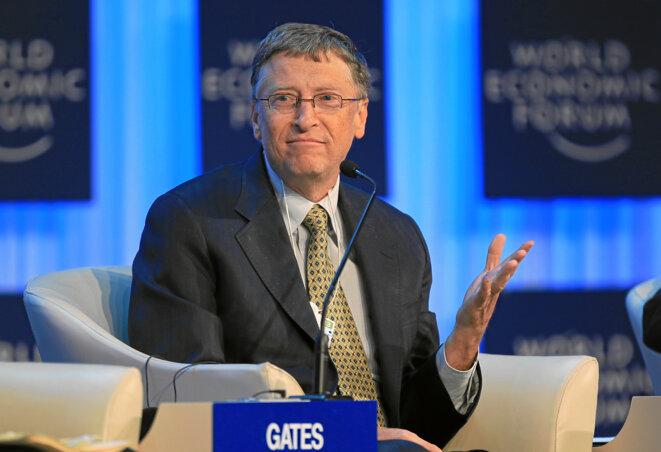 The Global Development Outlook - William H. Gates III prend la parole © Wikimedia Commons