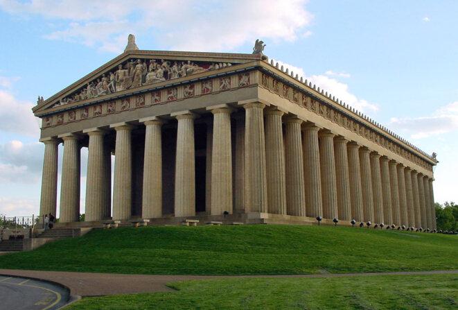 Le Parthénon reconstitué