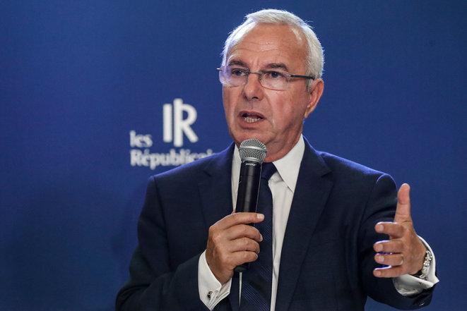 Jean Leonetti à l'été 2019, au siège de LR. © François Guillot/AFP