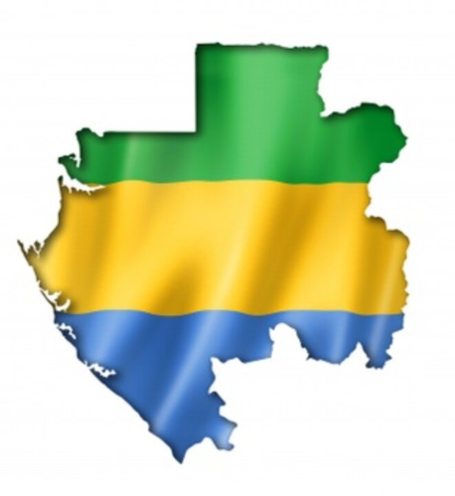 Drapeau de la République gabonaise