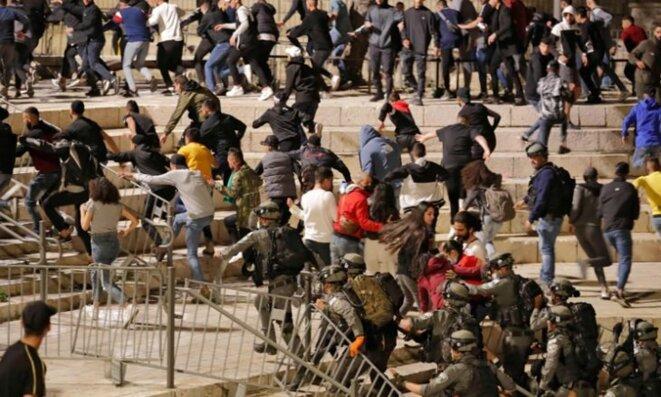 Repression à Jérusalem-Est © Al-Quds Al-Arabi Newspaper