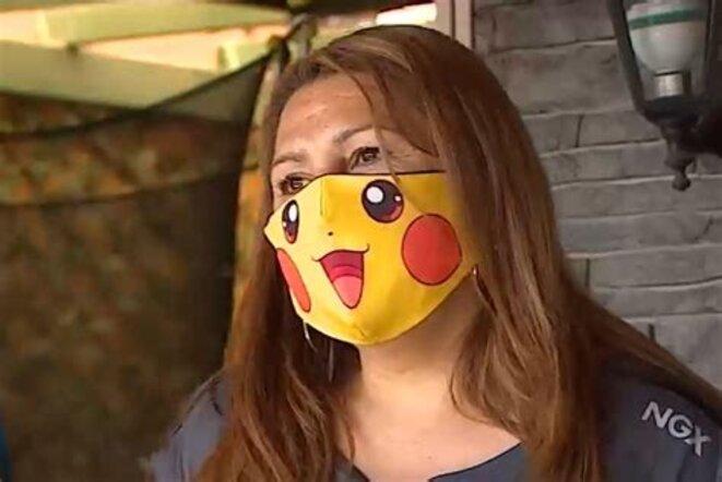"Giovana Grandon, ""Tia Pikachu"" © inconnu"