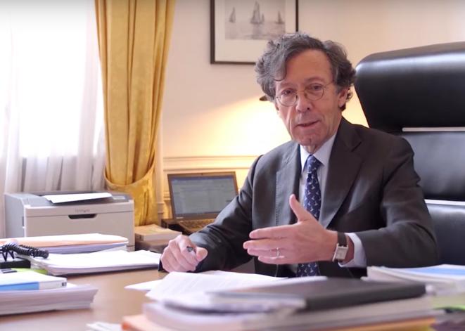 Président de chambre à la Cour des comptes, Patrick Lefas préside l'ONG Transparency International France. © Capture d'écran / Video du CESE.