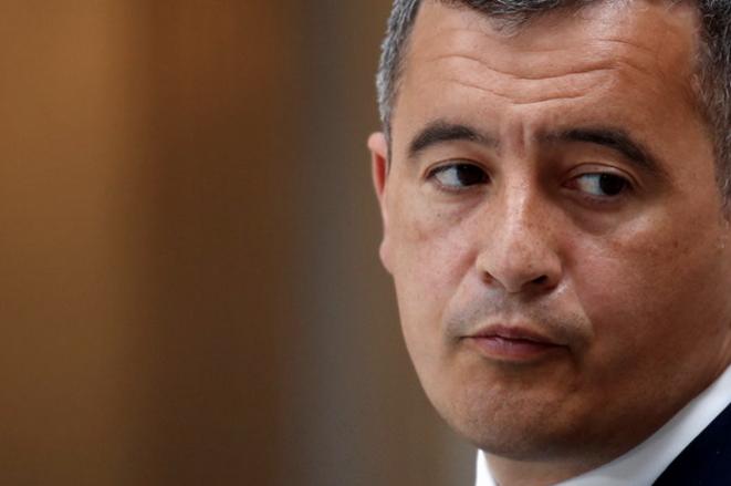 Le ministre de l'intérieur, Gérald Darmanin. © AFP