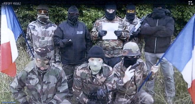 Capture d'écran d'une vidéo des Barjols. © Document Mediapart
