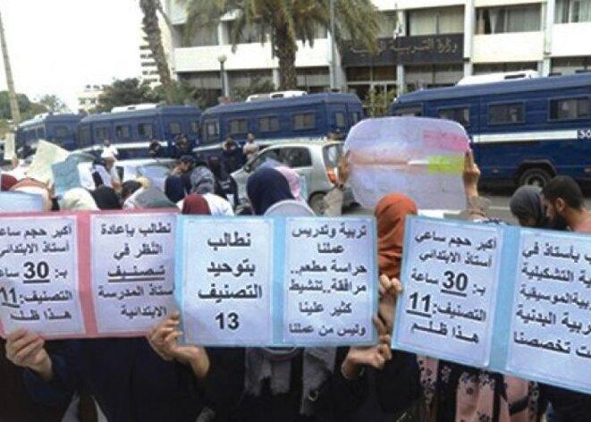 Grève des enseignants : Algérie 2021