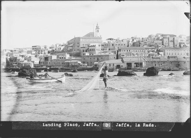 Le port de Jaffa aux environs de 1900 © Matson photography, for the American Colony Photo Department