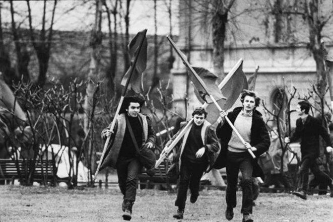 Manif Roma, 1968 © Eskimo