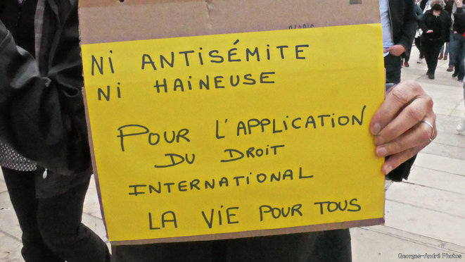 NI antisémite, ni haineuse ... le droit ! © Georges-André Photos