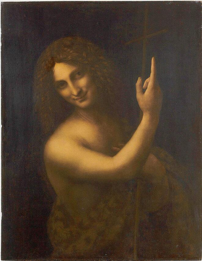 Leonard de Vinci - Saint Jean Baptiste -