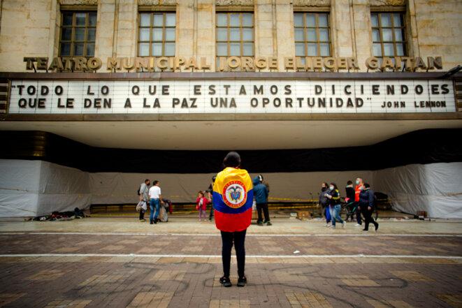 Bogota, mai 2021, https://entrelazando.com/ © Ariel Arango / Entrelazando